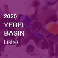 Yerel Basın Listesi (2020)