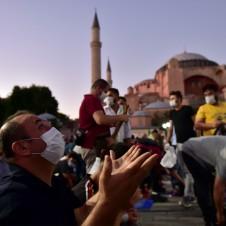AYASOFYA CAMİİ AÇILIŞ HABERLERİ (01.06.2021 - 08.08.2020)