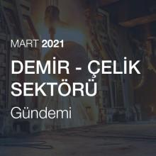 Demir Çelik Sektörü Gündemi [Mart 2021]