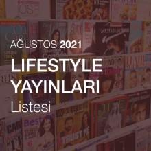 Lifestyle Yayınları Listesi [Ağustos 2021]