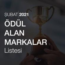 Ödül Alan Markalar Listesi [Şubat 2021]