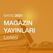 Magazin Yayınları Listesi (Mayıs 2021)