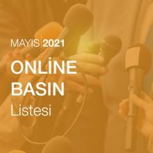 Online Basın Listesi (Mayıs 2021)