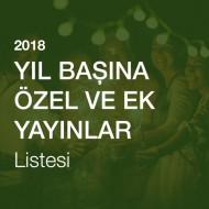 Yeni Yıl (Yıl Başı)'na Özel Ek ve Yayınlar Listesi [2018]