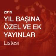 Yeni Yıl (Yıl Başı)'na Özel Ek ve Yayınlar Listesi [2019]