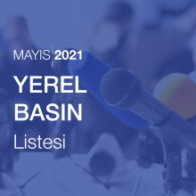 Yerel Basın Listesi (Mayıs 2021)