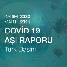Covid 19 Aşı Raporu - Türk Basını  (01.11.2020-18.03.2021)