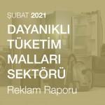 Dayanıklı Tüketim Malları Sektörü Reklam Raporu (Şubat 2021)
